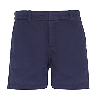 Asquith & Fox Women's Chino Shorts. XS - 2XL (Medium 12 (28