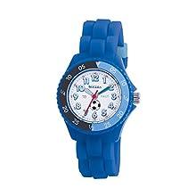 Tikkers - TK0002 - Montre Garçon - Quartz Analogique - Bracelet Caoutchouc Bleu