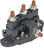 12 Volt Reversing Continuous Duty Solenoid Relay Winch Motor, Windlass by Crank-n-Charge