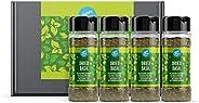 Amazon Brand - Happy Belly - Dried Basil - 4x15g