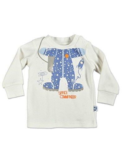(Blue Seven Baby Jungen Langarmshirt Space Commander (452016/010) Offwhite Gr. 56)