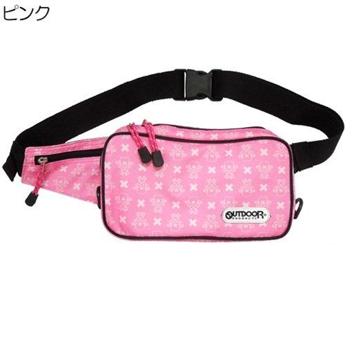 Preisvergleich Produktbild One Piece / Chopper x OUTDOOR body bag animated cartoon character goods (shoulder porch) mail order [pink] (japan import)