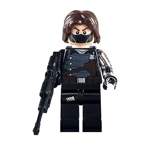 Winter Soldat Lego kundenspezifische minifigure kompatibel mit Lego Diy Figur - Superhelden - perfekt für Weihnachten - Weihnachten