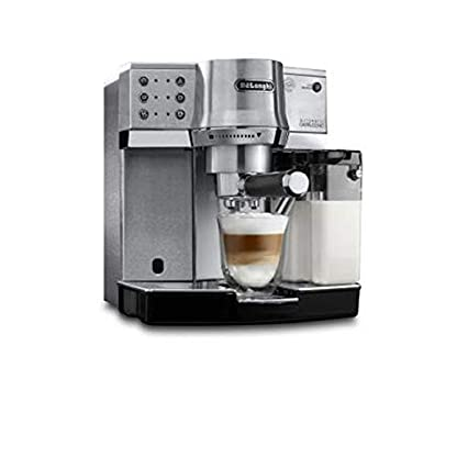 DeLonghi-EC-860M-Siebtrger-Espressomaschine-Silber