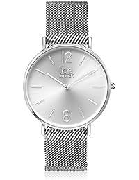 ICE-Watch - 012700 - City Milanese - Cadran Argent - Bracelet Acier Argent - Medium - 2H