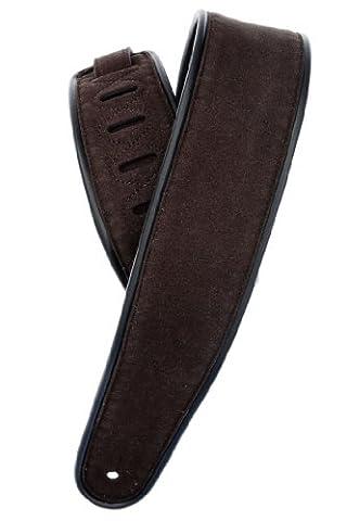Planet Waves 25RVP01-DX Wildledergurt Comfort Leather Strap Collection Braun Länge: 1300mm Breite: (Comfort Wave)