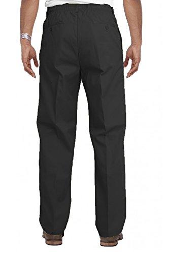 Hommes Carabou Classics King Size Rugby Pantalon Grand Taille Élastique Pantalon De Travail Noir