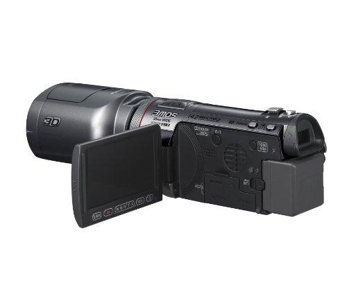 Panasonic HDC-SDT750EG Full HD 3D Camcorder (SD-Kartenslot, 12-fach opt. Zoom, 7,6 cm (3 Zoll) Display, Bildstabilisator) schwarz - 3