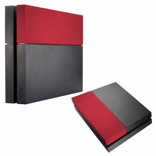 Preisvergleich Produktbild SAR-Market - Playstation 4 Festplattenabdeckung HDD Cover Soft Touch (rot)