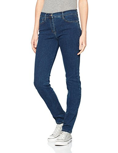 BRAX Shakira Damenjeans 70-4950, Blau (Clean Regular Blue 25), Gr.42L (W32/L34) - Skinny-sticks