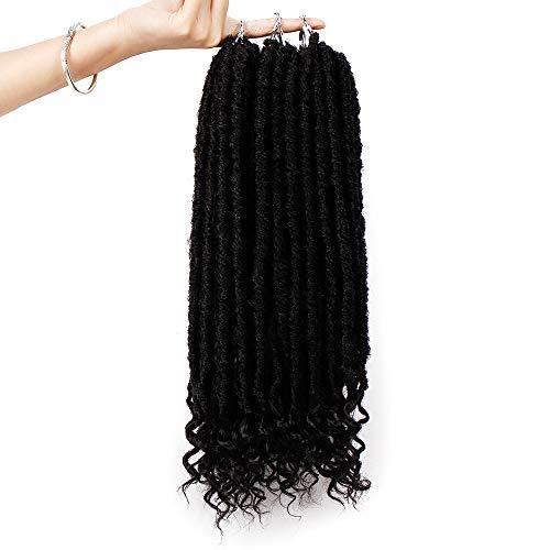 Luckhome Fasching Karneval Perücke Wig Cosplay Mode hübsch Frauen-Mädchen-Steigungsfarbe Twist Crochet Braids Extensions ()
