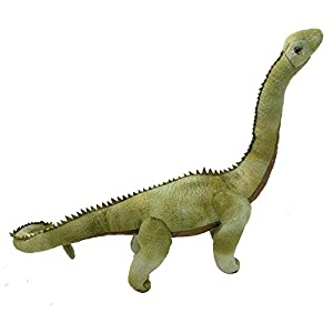 Wild Planet, All About Nature-60cm Diplodocus-Hecho a Mano, Peluche Realistico, Multicolor, 69 cm (K8360)