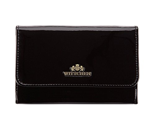 Wittchen Vanity   Couleur: Noir   Cuir verni   La taille (cm): 11 x Largeur (cm): 16   Collection: Verona   25-3-117-1