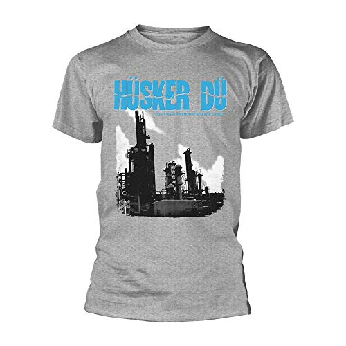 HUSKER DU Don't Want to Know IF You Are Lonely (Grey) T-Shirt XXL -