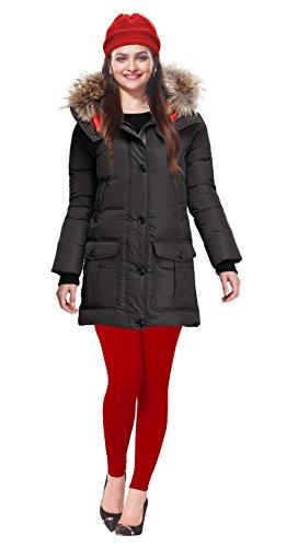 Lux Lyra Women\'s Red Winter Leggings