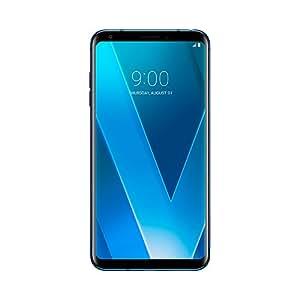 """LG V30 Smartphone Portable Débloqué 4G (Ecran 6"""" OLED - Android 7.1 - Nano-SIM - 64 Go) Bleu"""