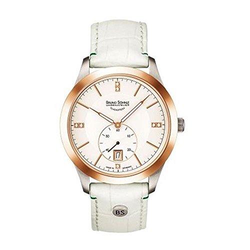 Bruno Söhnle Damen Analog Quarz Uhr mit Leder Armband 17-63153-251