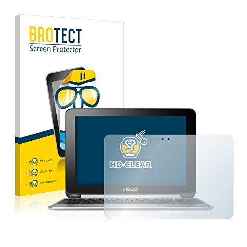 2X BROTECT HD Clear Bildschirmschutz Schutzfolie für ASUS Chromebook Flip C100PA (kristallklar, extrem Kratzfest, schmutzabweisend)