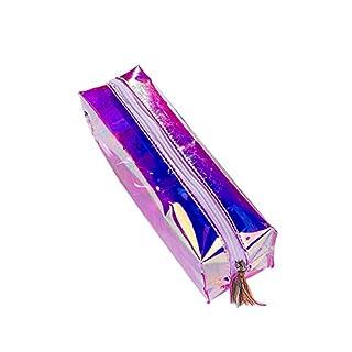 iSpchen Sac à Paillettes de Mode Trousse Sac de Maquillage de Sac Cosmétique pour Boy Girl Teenager,Sac de Papeterie Créative, 19.5x5x6cm,Coloré