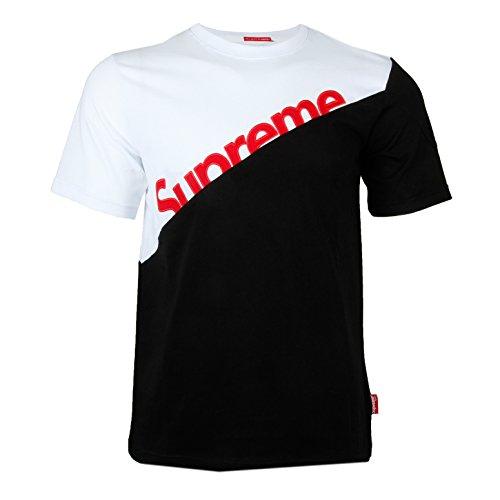 ca1fb413ebf2 Supreme Spain Herren T-Shirt T Shirt Tshirt Logo Kurzarm 100% Baumwolle Box  Streetwear