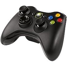 Microsoft - Mando Inalámbrico Xbox 360, Color Negro (Windows - PC)