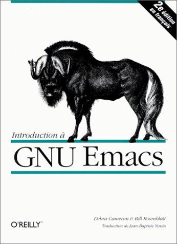 Introduction à GNU Emacs