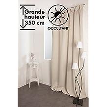 Amazon.fr : Rideaux Grande Hauteur