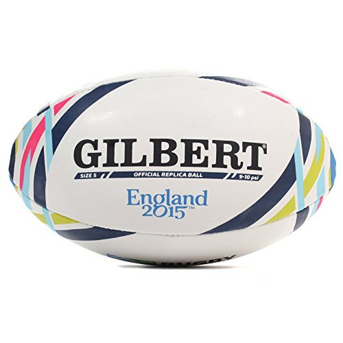Coupe du Monde RWC 2015 – Ballon de Rugby Gilbert – taille 5