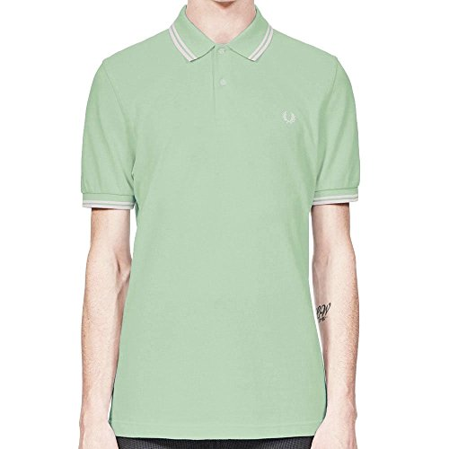 Fred Perry Men's Twin Tipped M3600 Polo Shirt Mint