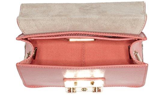 Furla Metropolis Mini Crossbody, Sacs bandoulière Pink (Color Corallo)