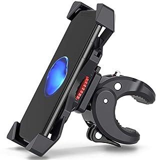 FYLINA Handyhalterung Fahrrad, Handyhalterung Motorrad, 360° Drehbare Halter Verstellbarer, Smartphone Halterungen, fahrrad handyhalter, Universelle Radsport Klammer 3,5-6,5 Zoll Phone
