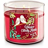 Bath & Body Works WINTER CANDY APPLE Candle 3 Wick