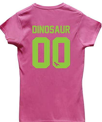 hippowarehouse-damen-t-shirt-x-large-gr-xl-rose