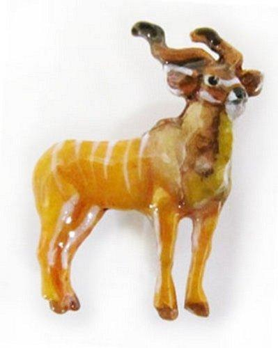 bemalt ~ Kudu Full Body ~ Kühlschrank Magnet ~ mp106fm (Kühlschrank-magnete Kudu)