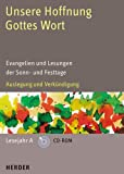 Unsere Hoffnung - Gottes Wort. Lesejahr A. CD-ROM. Evangelien und Lesungen der Sonn- und Festtage Bild