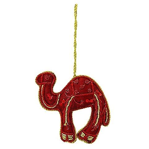 Traditionelle indische Dekorative Camel handgemachter wulstiger Tür Wandbehang Wohnkultur