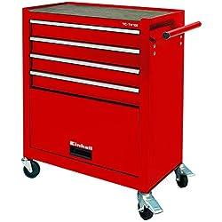 Einhell Chariot d'atelier TC-TW 100(75kg max., 4tiroirs, 4roulettes pivotantes)