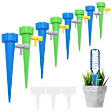 NewZC 10pcs Adjustable Watering Spikes Automatic Flower Waterer with Slow Release Controller Vacation Plant Waterer for Indoor Outdoor Potted Plants Flowers Vegetables