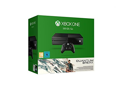 Xbox One 500GB Konsole - Bundle inkl. Quantum Break und Alan Wake (Gb 500 Bundle Ps3)