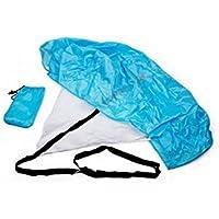 xinyiwei entrenamiento de velocidad Parachute Running resistencia paracaídas deportes al aire libre equipo–azul