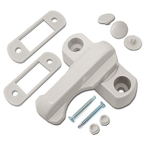 Sash Jammers-Extra Sicherheit Schlösser Für UPVC Fenster & Türen-Weiß