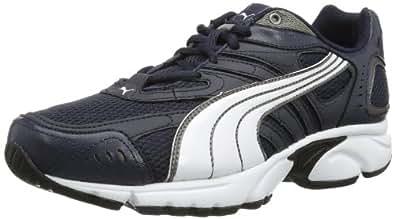 Puma Xenon 185696 Herren Laufschuhe, Blau (new navy-white-aged silver-black 19), EU 48.5 (UK 13) (US 14)