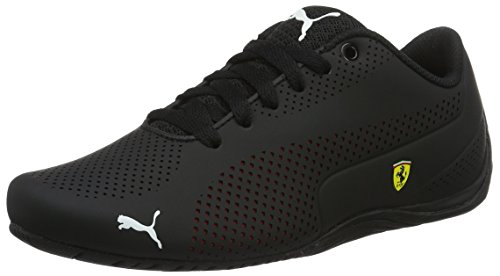 Puma Unisex-Erwachsene SF Drift Cat 5 Ultra Low-Top, Schwarz Black-Rosso Corsa Black 02, 41 EU (Puma Drift Cat Ferrari)
