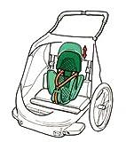 Croozer Fahrradanhänger Sitzstütze für Kinderanhänger