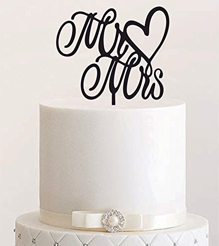Preiswert Cake Topper Mr Mrs Tortenstecker Tortefigur Acryl