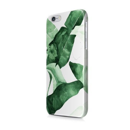 iPhone 5/5S/SE coque, Bretfly Nelson® LOGO ADIDAS Série Plastique Snap-On coque Peau Cover pour iPhone 5/5S/SE KOOHOFD919493 BANANA LEAF WATERCOLOR PATTERN - 007