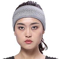 BeFur Fascia per capelli di cachemire con fila di strass moderna per  attività all aperto 322acd1263ce