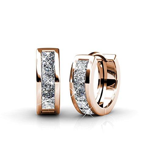 Damen Ohrringe Set mit Kristall aus SWAROVSKI -...