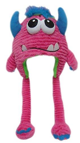 Monster Mütze Plüsch Kinder Erwachsene Karneval Halloween Wintermütze Jungen Mädchen Kindermütze 8984