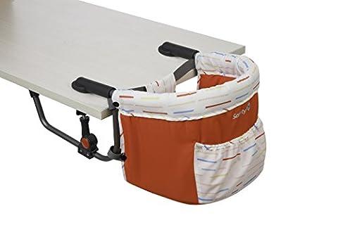 Safety 1st Smart Lunch, praktischer Tischsitz für Kleinkinder, optimaler Halt durch zwei Sicherheitsriegel, kompakt zusammenfaltbar für unterwegs, ab ca. 6 Monate bis max. 15 kg,